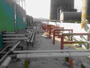 Irak Süleymaniye 51 MW Enerji Santrali İnşaatı 2008